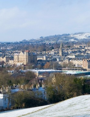 I'll be riding on the hills above Bath, working off those mince pies