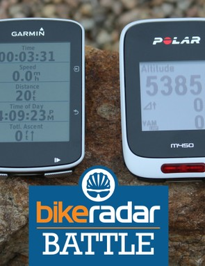 Garmin Edge 520 vs Polar M450