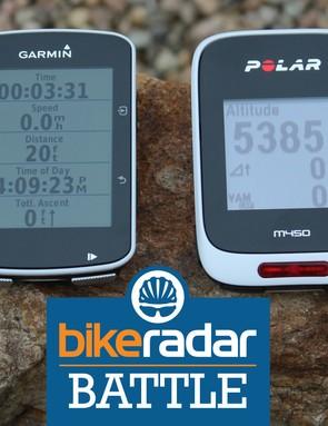 Garmin Edge 520 vs Polar M450