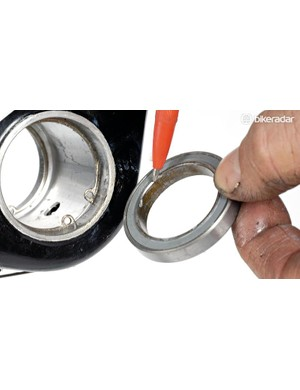 Inspect the bearings for any signs of unusual wear and try to diagnose the cause