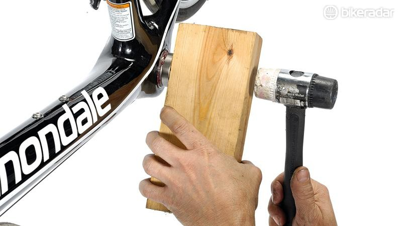 Make sure whatever piece of lumber you use has a solid, perfectly flat face
