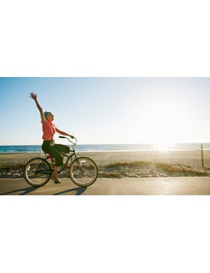 There are many advantages of cycling, including improving your health and happiness