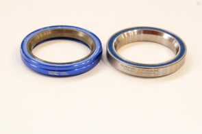 Cane Creek's AER bearings are said to be 40 percent lighter than its standard bearings, they can also be installed in 40 and 110 series headsets