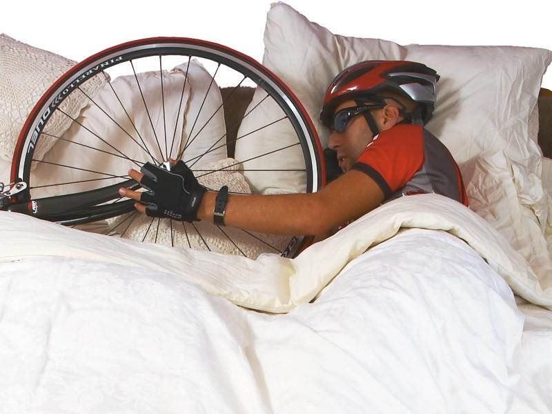 Sweet dreams: a good night's sleep will help your performance on a bike