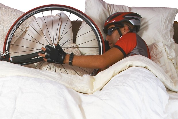 Sweet dreams: a good night's sleep will help your performance on a bike
