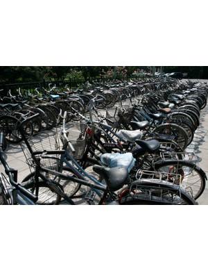 Billions of people, billions of bikes.