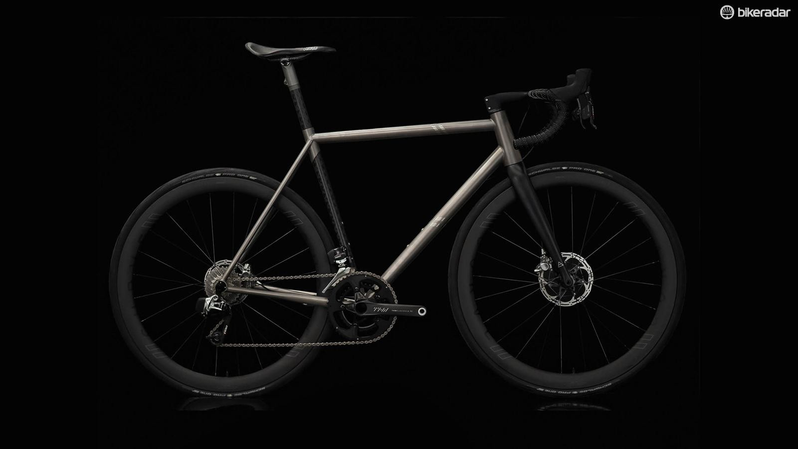 The Curve Belgie Air is either sold as a frameset or specced to order