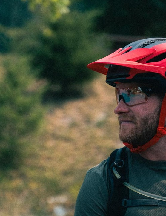 The Sixer replaces the Super as Bell's trail helmet