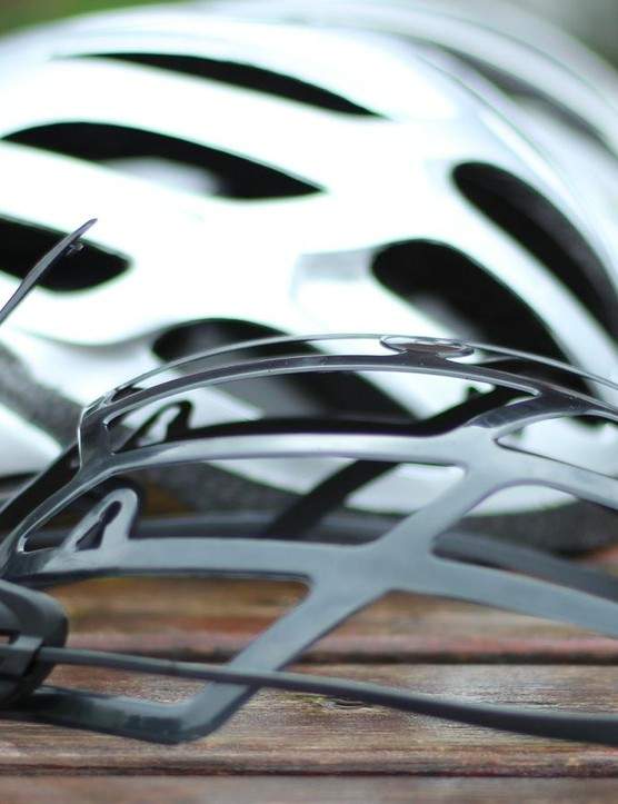 The MIPS liner is designed to let the head rotate a little inside the helmet in the event of a crash, which proponents say can minimize brain trauma