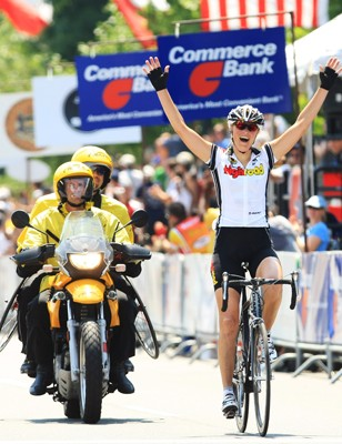 High Road's Chantal Beltman wins Philly.