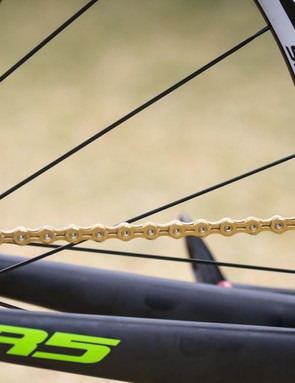 Once again Dimension Data is riding KMC's gucci gold chain