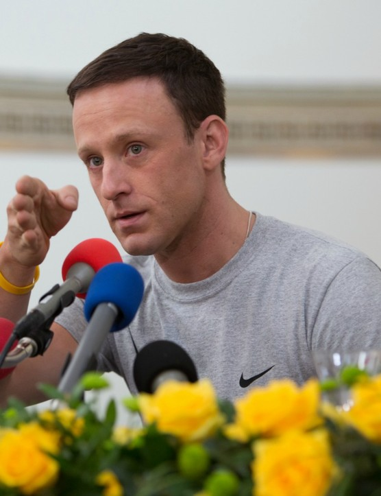 Ben Foster takes the role of Lance Armstrong