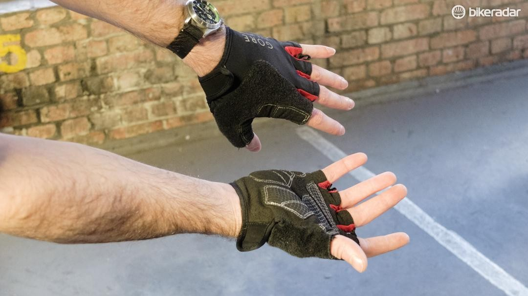 Despite years of abuse, these Gore mitts are still in excellent condition