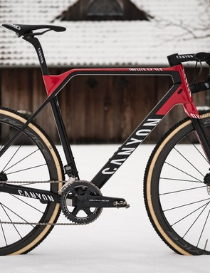 The Canyon Inflite CF SLX will be the team bike for the remainder of the 2018 cyclocross season