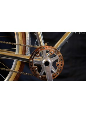 Meteor Works uses its own cranks, hubs, rims and even tyres