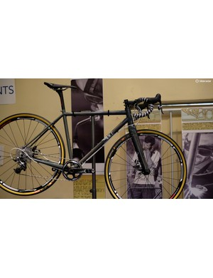 A rather lovely adventure road bike on display from Bice Bicycles