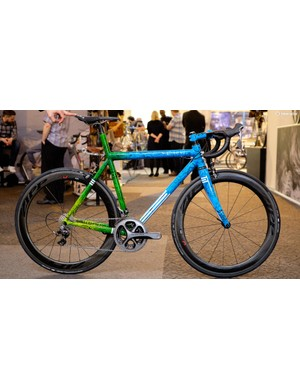 Engineered Bicycles worked with Bristol artist Tim Cox on this stunning custom build