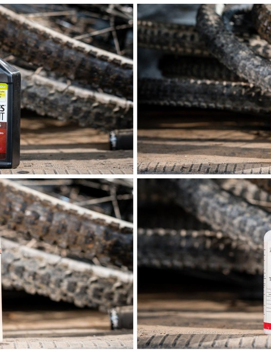A generous squirt of tyre sealant can save you big headaches in the long run