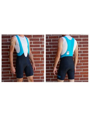 On long rides, the Rapha Pro Team II bibs bunched around the hips