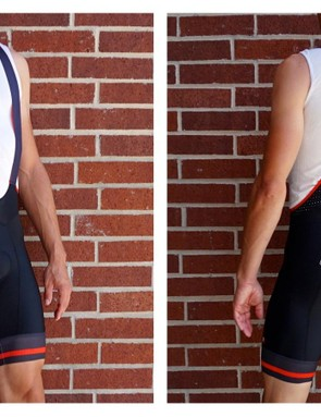 As a little brother to the NX-G, Giordana created the FR-C bibs at a more attainable price and they're nearly as good