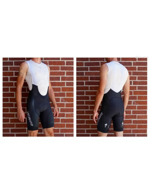Pro SL bibs from Specialized are a race-fit, all-around super comfy short with great compression and a breathable upper