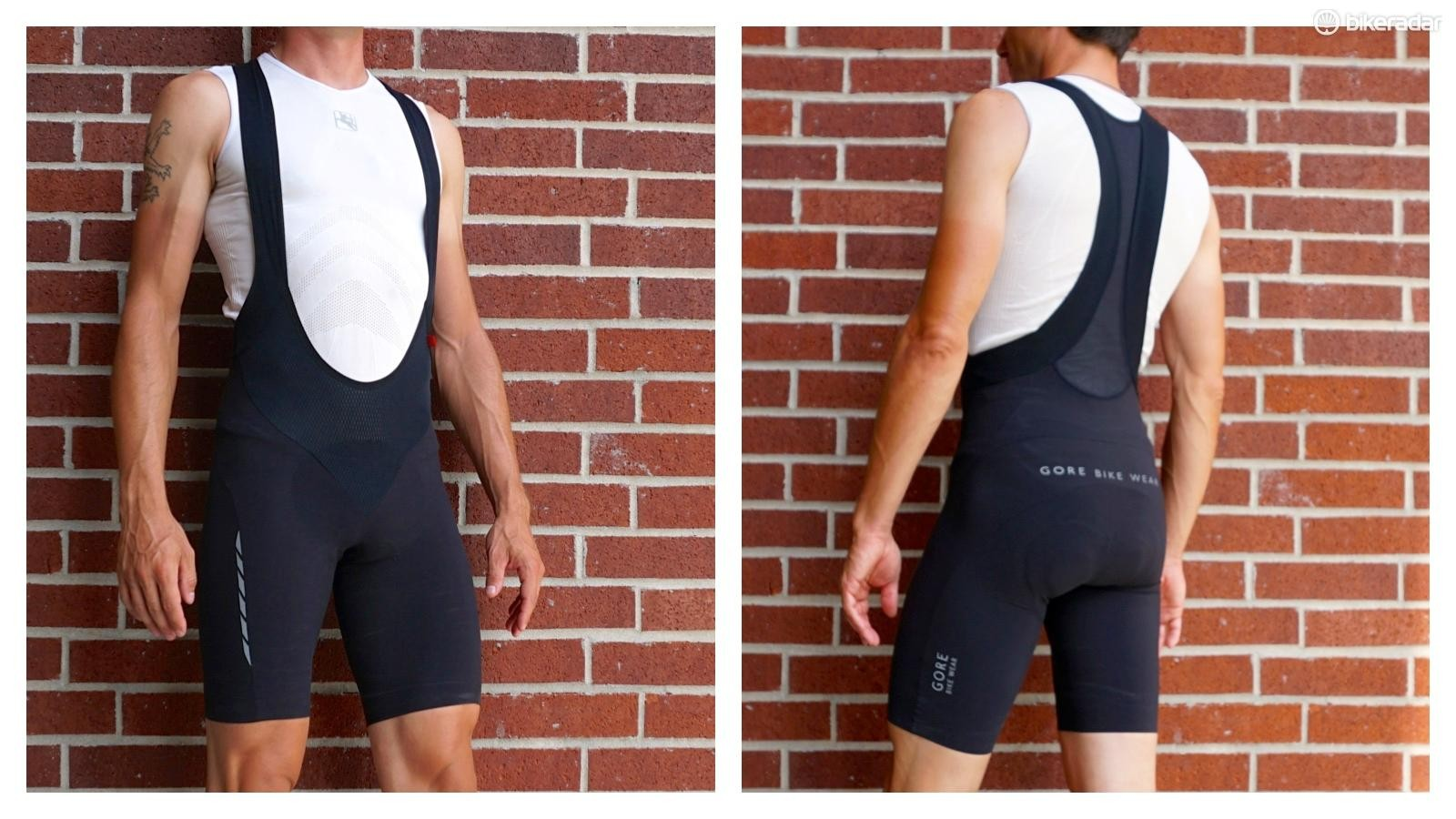 Gore Zenon 2.0 bibs leveraged compression to forgo a leg gripper