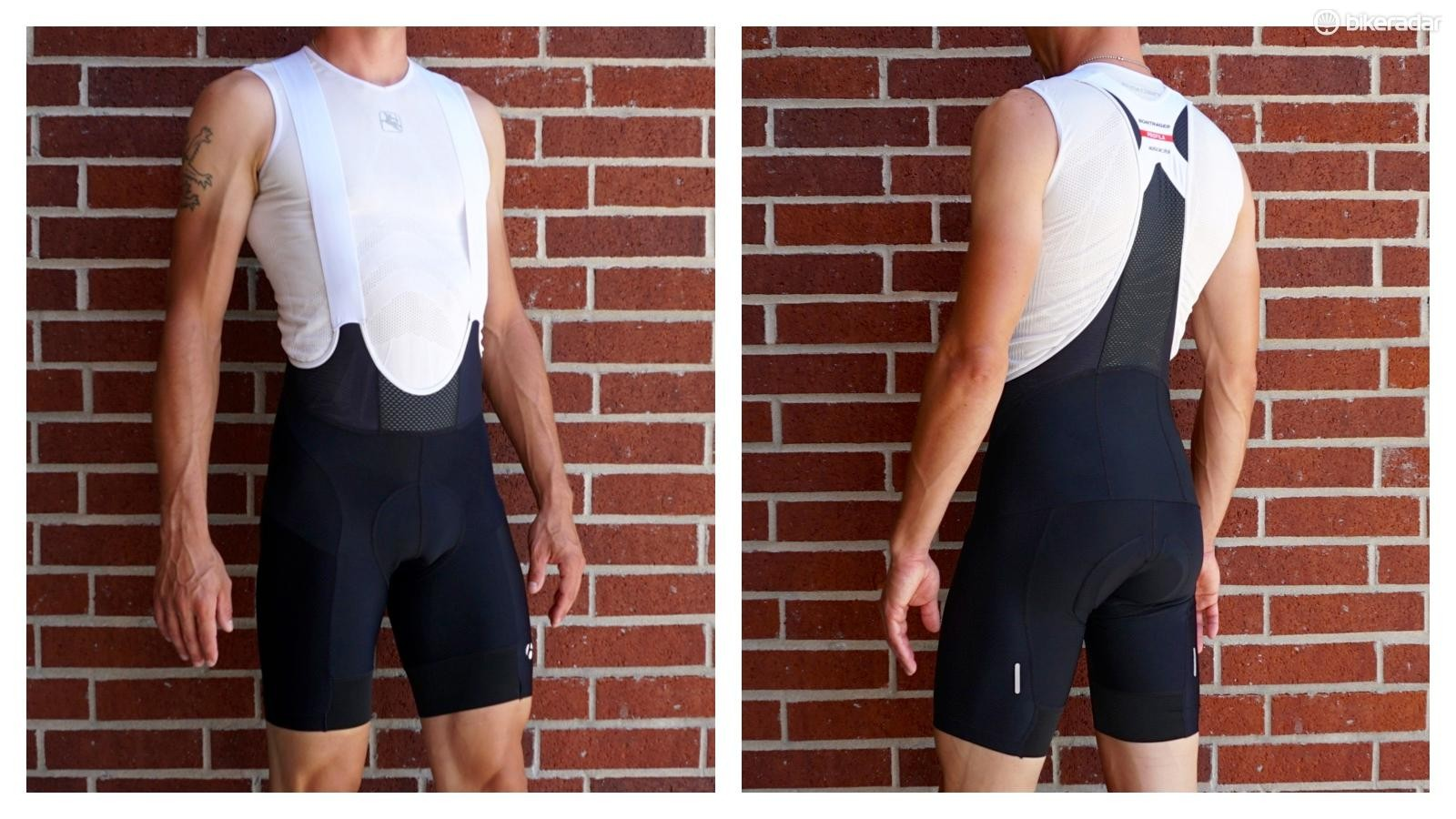 Bontrager Velocis bibs have a seam down the center of the thigh that was difficult to ignore
