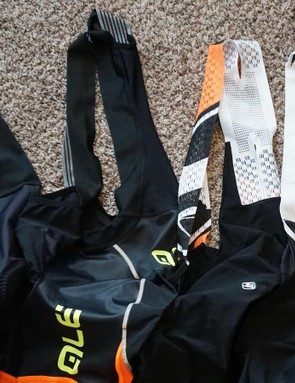 The straps, also known as one of the most annoying parts of these bibs