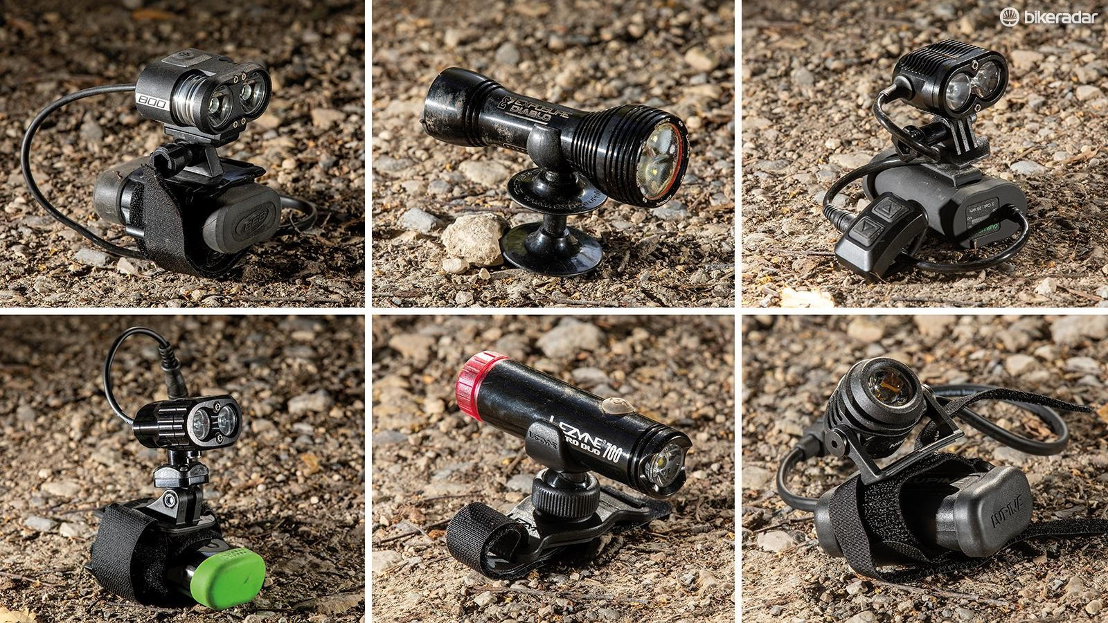 Light up where you're looking, to ride faster on technical trails