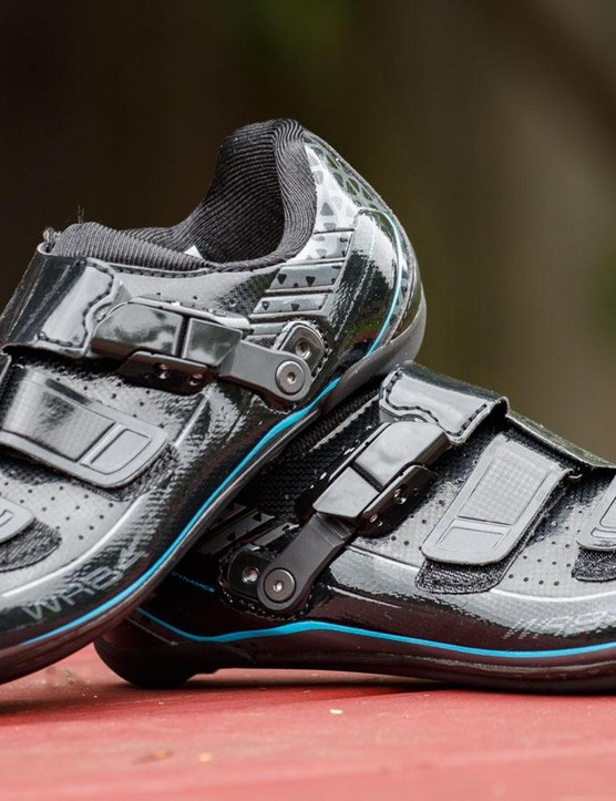 The WR84 is Shimano's top offering road shoe specifically for women, yet, they're effectively an Ultegra-grade option