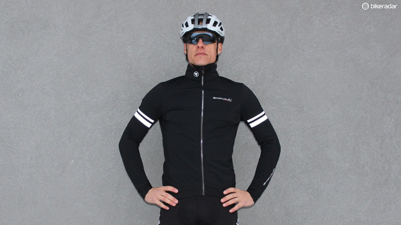 Endura's FS260-Pro SL Thermal Windproof Jacket fits snugly with good stretch