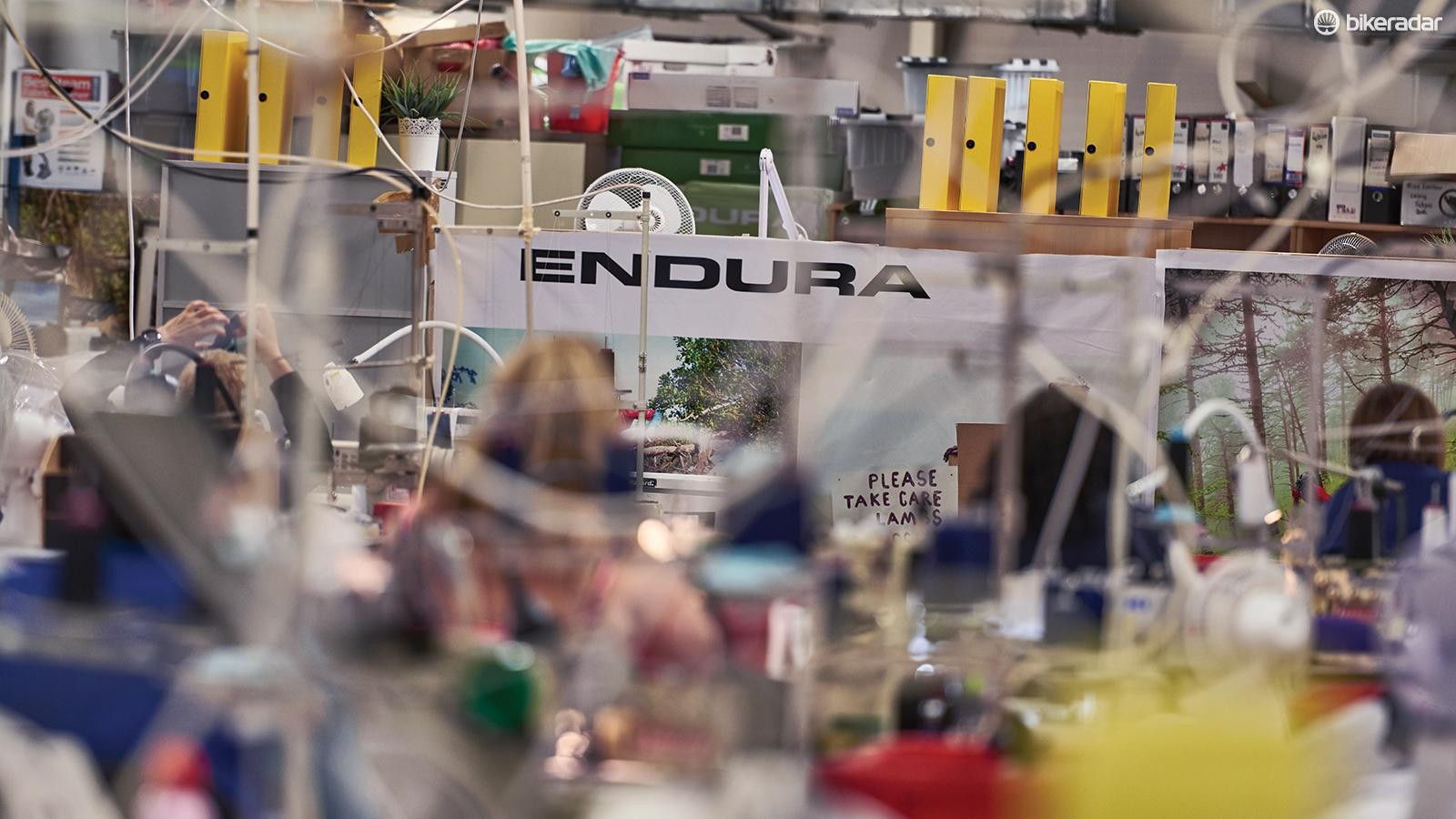 Endura has an on-site factory