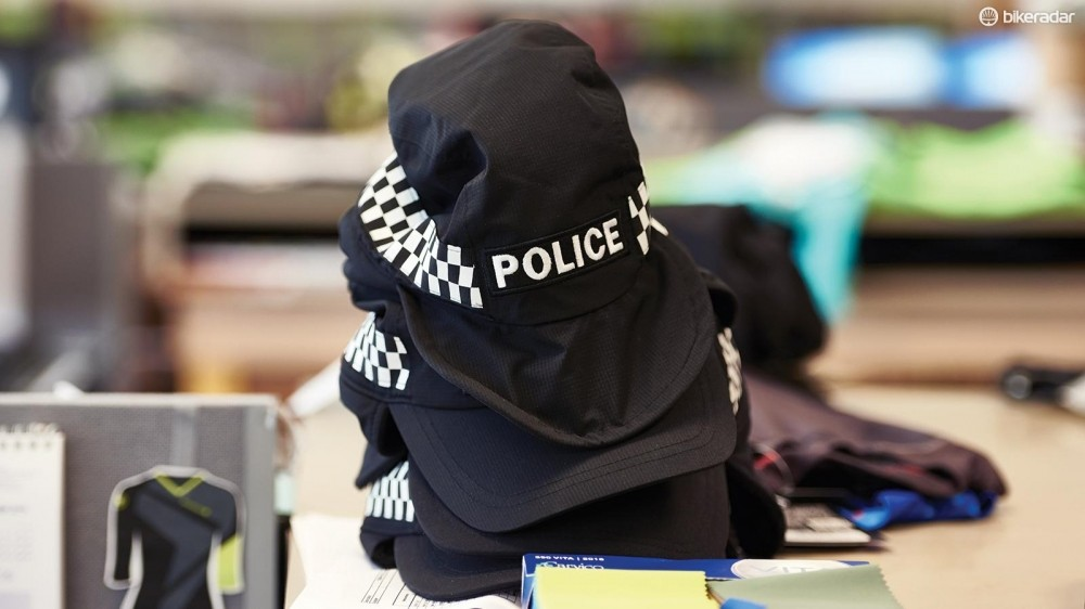 Endura also makes cycling kit for the police… useful for fancy dress