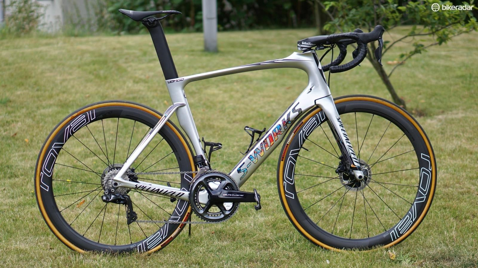 Marcel Kittel won five stages aboard this Specialized S-Works Venge Disc
