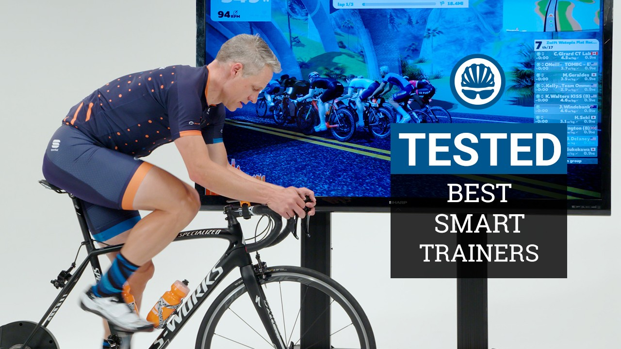 Smart trainers bring virtual riding to life with resistance controlled by apps