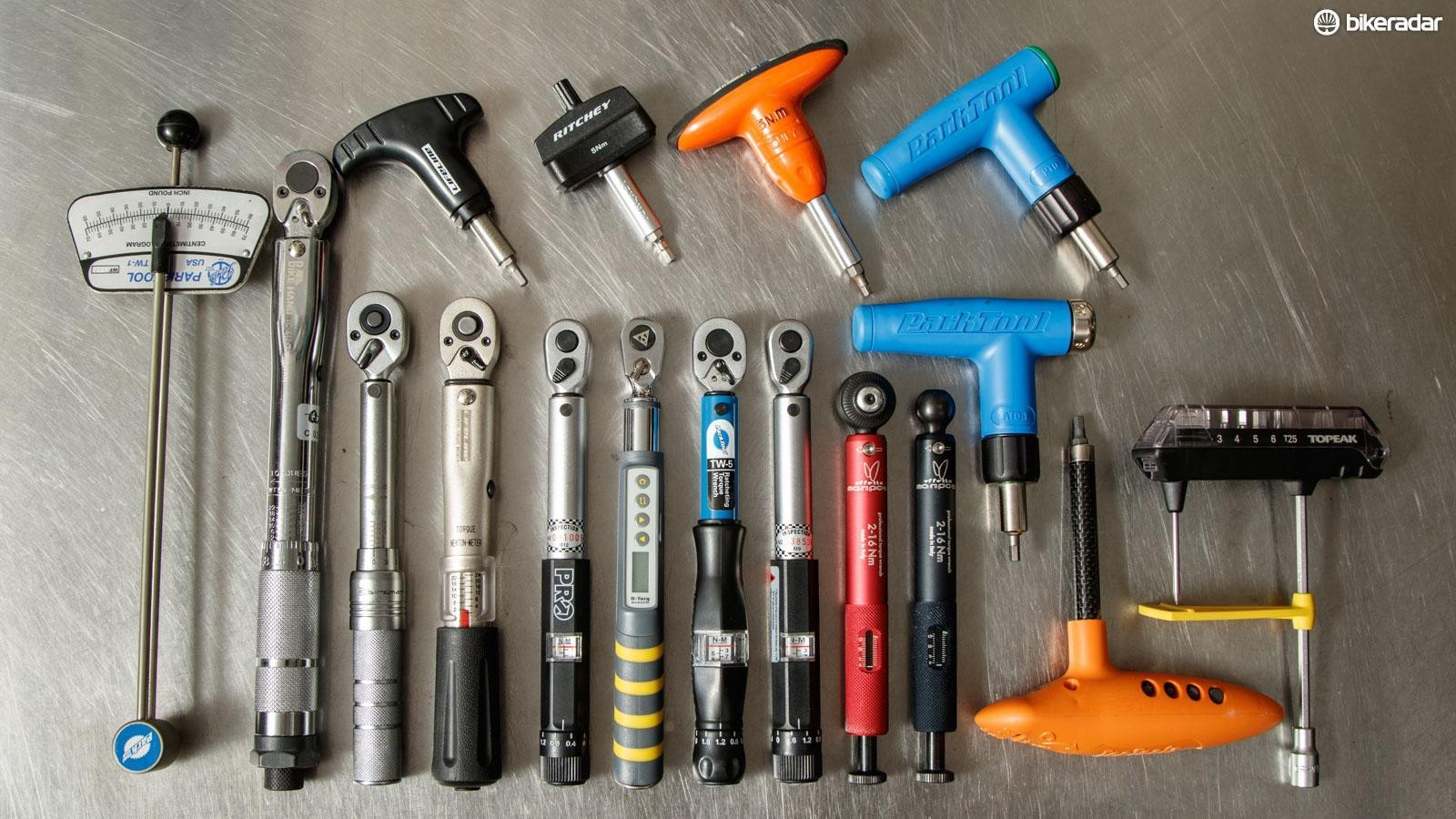If you don't own a torque wrench and plan on doing your own bike maintenance, buy one. Keep a list of the manufacturer's recommended torque values whenever possible