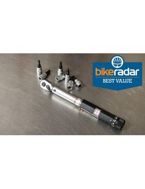 Sold under a few brand names, Wiggle's LifeLine Professional Torque Wrench wins BikeRadar's 'Best Value' award