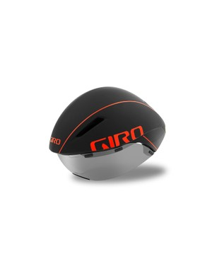 The wraparound magnetic visor is easy to use and can be stored atop the helmet when not in use