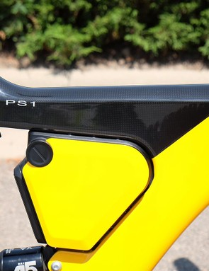 The PS1 features a carbon frame to keep the weight low