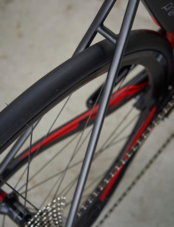BH goes for comfort with these skinny seatstays