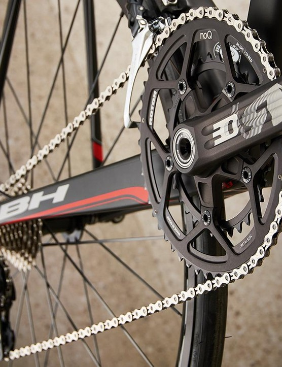 Spanish chainset to match the bike's Iberian roots