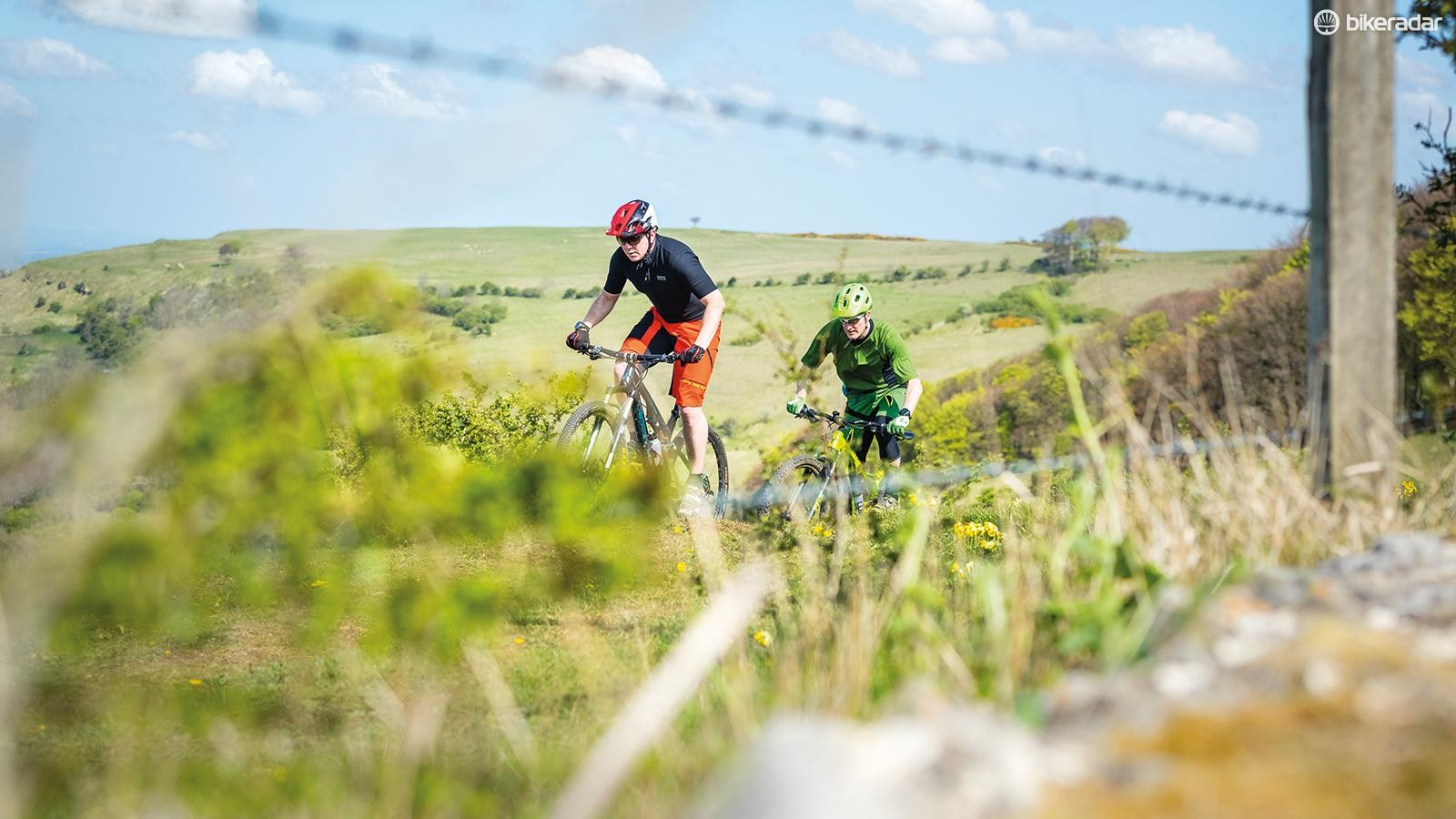 Taking part in an event gives you the chance to explore new trails