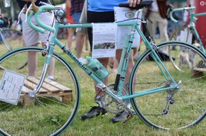 This beautifully restored 1975 Bianchi was rescued from a recycling centre!