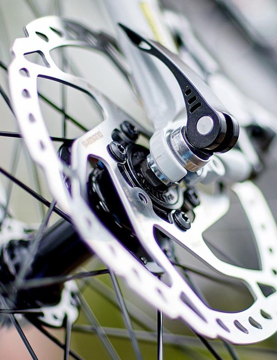 The Allroad gets great quality, top-performing, Ultegra-level Shimano BR-RS785 hydraulic brakes