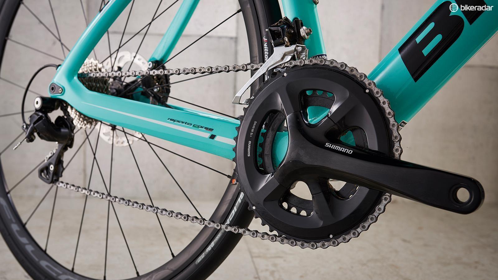 200a7ad36a1 Bianchi Aria Disc 105 Two review - Road Bikes - Bikes - BikeRadar