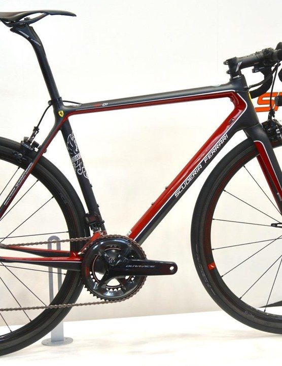 The Nero Setoso design with Shimano Dura-Ace Di2