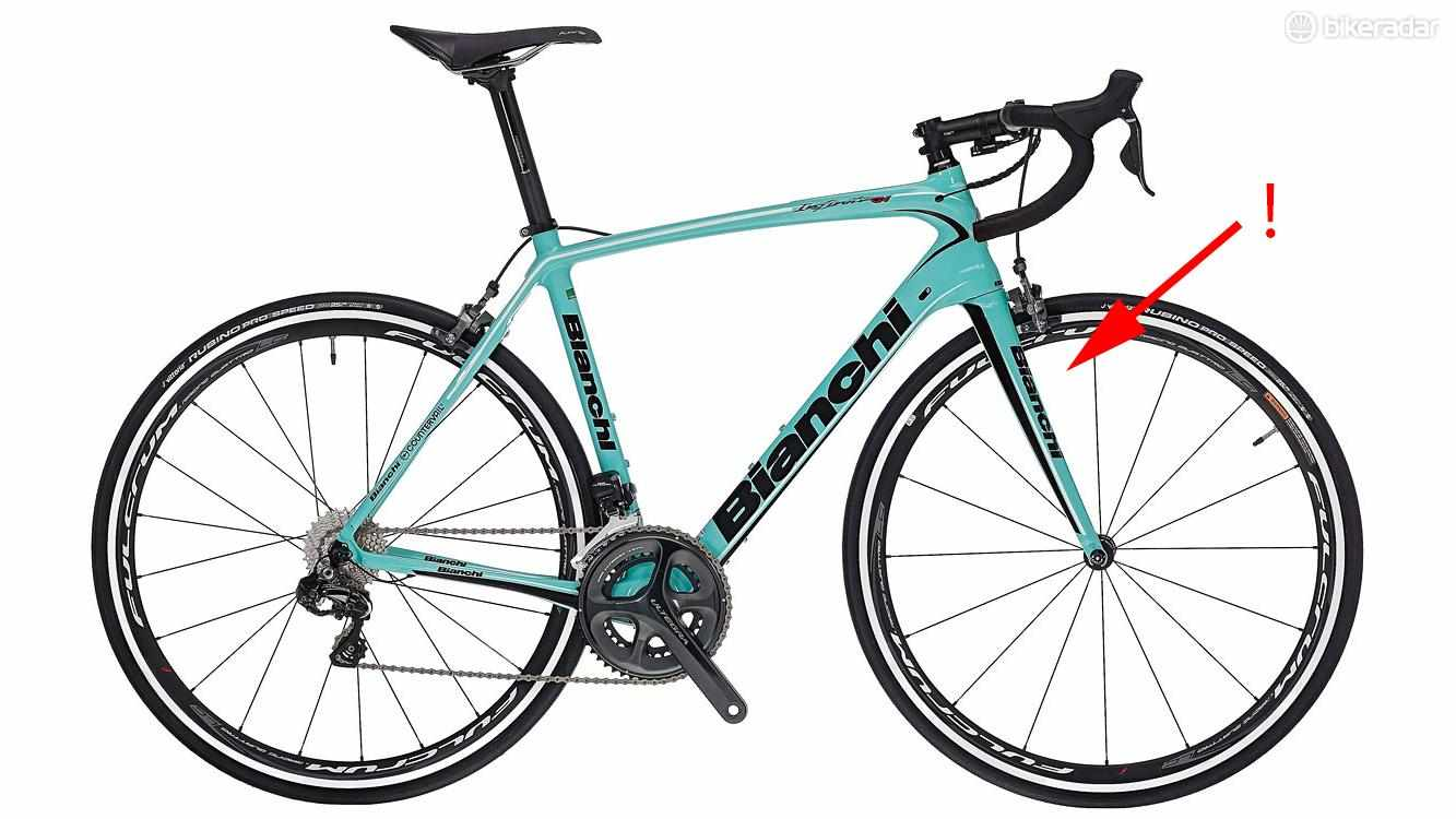 If you're riding a 2017 Bianchi, you need to check if your fork is subject to a recall