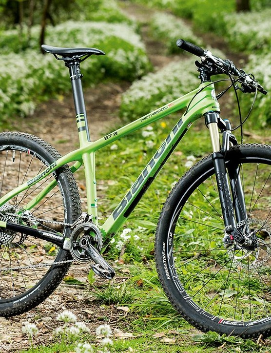Bianchi's Methanol 27.2 SL is a traditionally steep and twitchy racer