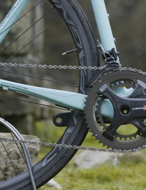 With the Specialissima, Bianchi's intention was to create a bike matching downhill handling prowess with reactive acceleration on the ascents