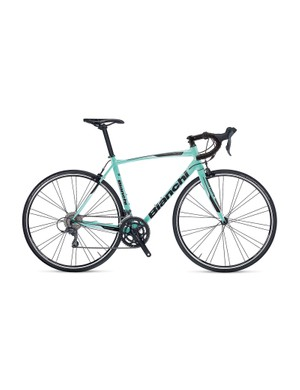 The Bianchi isn't the best specced, but the frame looks great and rides well
